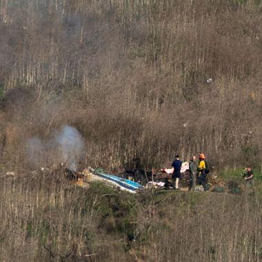 26/01/2020, Identifican a víctimas de accidente que acompañaban a Kobe Bryant cuando muere