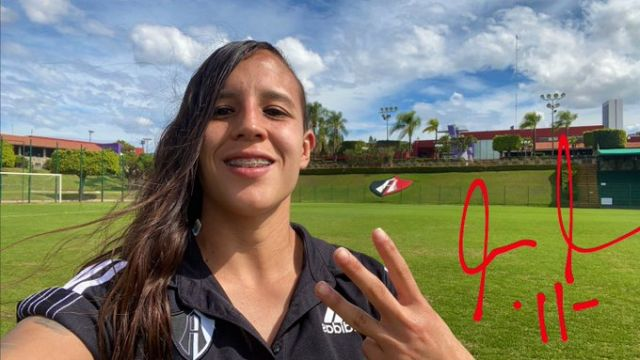 25/01/2020, Goles de Fabiola Ibarra ponen a Atlas como líder de la Liga MX Femenil
