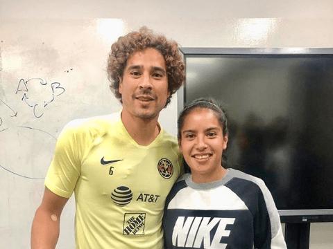 14/08/2019. La delantera Lucero Cuevas, que logró hacerse figura en América, ha firmado con Xolos Femenil por un préstamo