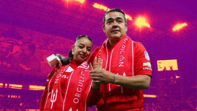 31/01/2020. Matrimonio Estadios México 14 de febrero Los Pleyers, Aficionados de Toluca.