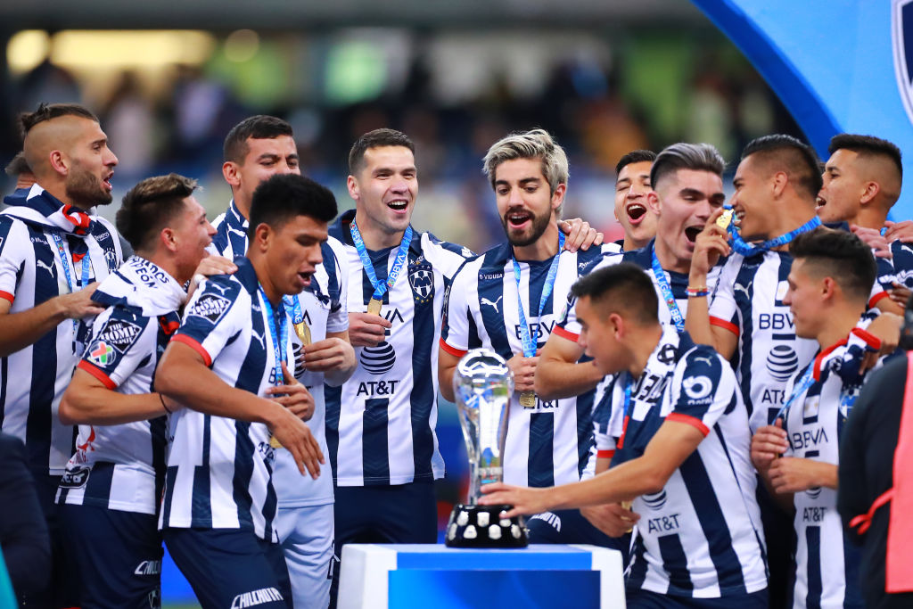 29/12/2020. Monterrey Rodolfo Pizarro Mls Jugadores Los Pleyers, Jugadores de Rayados festejan el título del Apertura 2019.