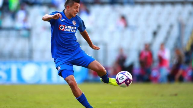 19/10/2019. Roberto Alvarado Crystal Palace Leicester City Europa Los Pleyers, Roberto Alvarado intenta un disparo.