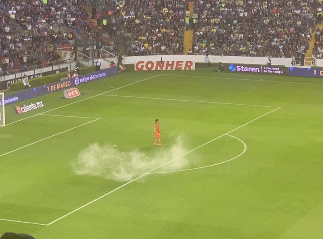 09/02/2020, ¿Liga MX aplicará veto al Querétaro como castigo por bomba de humo en contra del América?