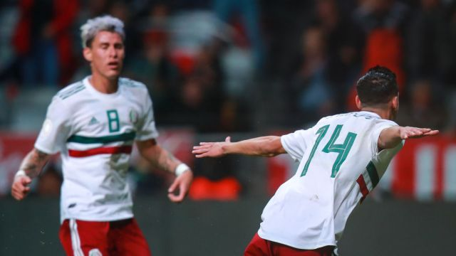 19/11/2019, Uriel Antuna, Selección Mexicana, Preolímpico, Jugadores
