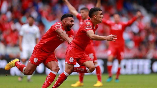 15/02/2020, Leonardo Fernández, Toluca, Uruguay, Liga MX
