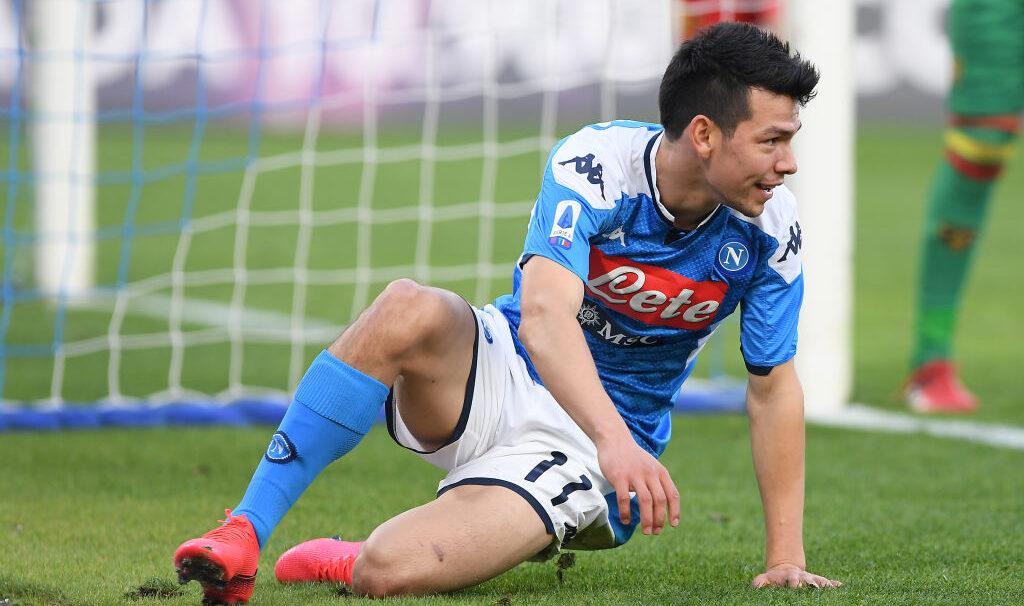 09/02/2020, Gattuso afirma que el Chucky Lozano no volverá a jugar con el Napoli