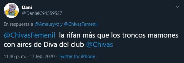 19/02/2020, Amaury Vergara aplaude papel de Chivas en la Liga MX Femenil y el ejemplo que es para otros
