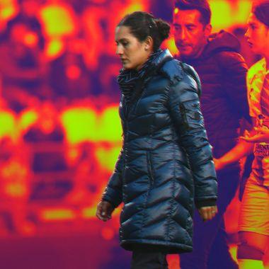12/02/2020, La entrenadora del Pachuca Eva Espejo cumple 100 partidos dirigiendo en la Liga MX Femenil