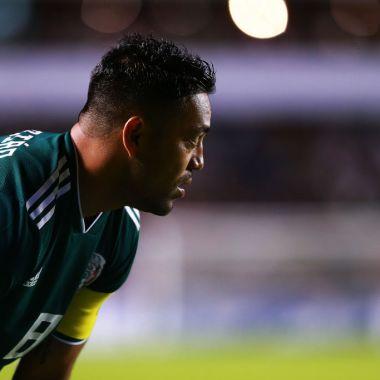 16/10/2018. Marco Fabián Qatar Al-Sadd Fichaje Los Pleyers, Marco Fabián en un partido con la Selección Mexicana.