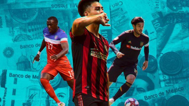 28/02/2020. Mls Jugadores Franquicia 2020 Los Pleyers, Imagen con Martínez, Vela y altidore.
