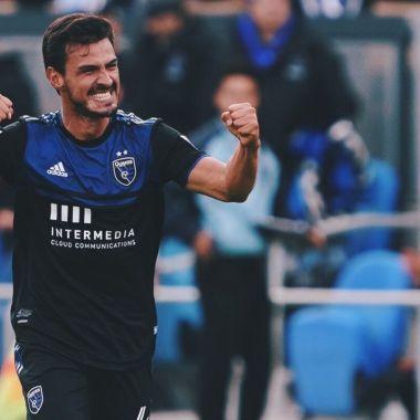 29/02/2020, Gol de Oswaldo Alanís con el San Jose Earthquakes en la MLS