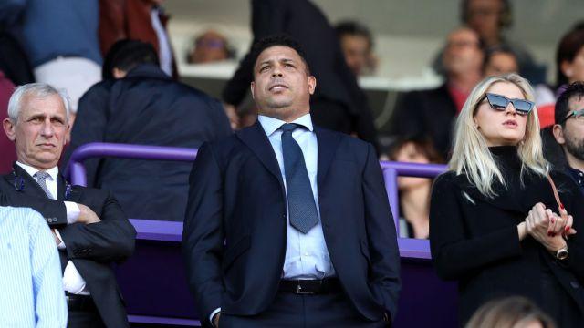 23/02/2020. Ronaldo es presidente del Valladolid de España y eso lo motiva a pensar en el fichaje de jugadores mexicanos en un futuro cercano