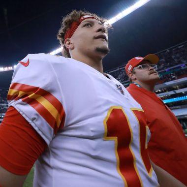 18/11/2019. Super Bowl Chiefs Andy Reid México Los Pleyers, Patrick Mahomes en el Estadio Azteca.