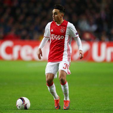 24/11/2016. Ajax Abdelhak Nouri Contrato Despido Los Pleyers, Nouri en un partido con el cuadro de Ámsterdam.