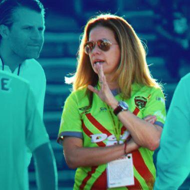04/03/2020. Alejandra de la Vega, dueña del FC Juárez, ha hecho historia en el futbol mexicano desde la década de 1980