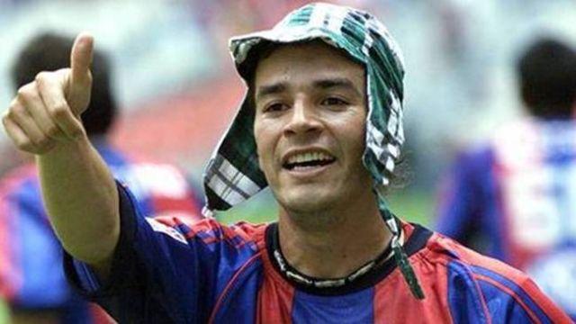 28/11/2014.Chamagol se convirtió en ídolo con el Atlante y puso su nombre en el futbol mexicano por sus festejos como personajes de Chespirito