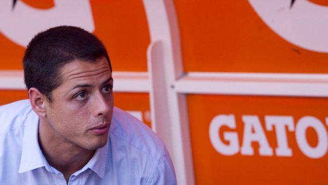 20/07/2014, Chicharito señala que nunca prometió su retiro en Chivas y que la Liga MX está estancada