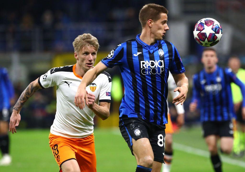 19/02/2020. Coronavirus Champions League Atalanta vs Valencia Italia Los Pleyers, Imagen del juego Atalanta vs Valencia.