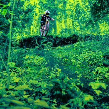 03/03/2020. Deportes Medio Ambiente Naturaleza Afecta Los Pleyers, Imagen de ciclismo de montaña.