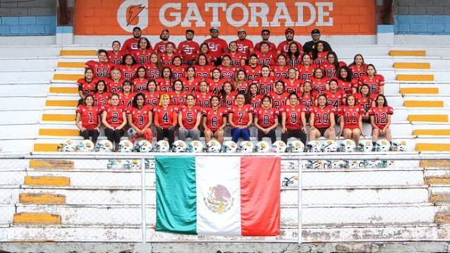 11/03/2020, Guerreras Jaguar, Futbol Americano Femenil, Coronavirus, Equipo