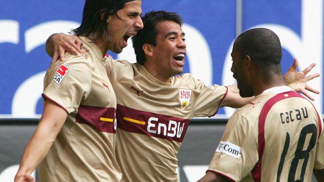 07/04/2007, Pável Pardo, Bundesliga, Gol, Futbolista Mexicano