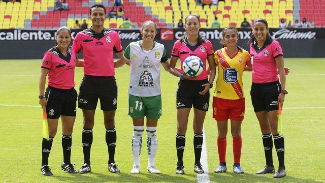 06/03/2020, Lizzet Amairany García Olvera, Árbitras, Ascenso MX, Futbol