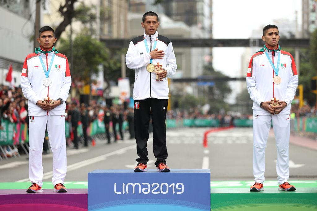 27/07/2019, Atletas se manifiestan por cambio de fecha de Juegos Olímpicos Tokio por coronavirus