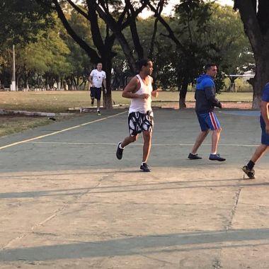 13/03/2020. Ronaldinho Cárcel Paraguay Goleada Los Pleyers. Ronaldinho en la cárcel.