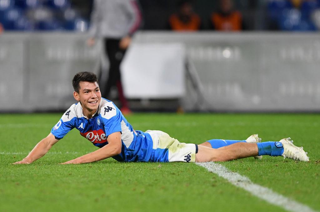 01/12/2019. El Chucky Lozano sería una opción de fichaje del Atlético de Madrid para salir del Napoli de Italia