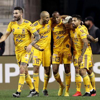 11/03/2020. Eduardo Vargas Tigres Boca Juniors Fichaje Los Pleyers, Tigres en el partido contra New York City.