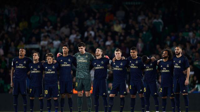 08/03/2020, Real Madrid, Estadio Santiago Bernabéu, La Liga, Coronavirus