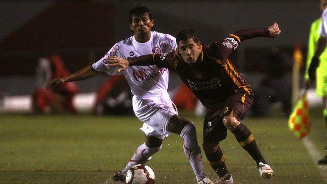 03/02/2010, Tecos, Copa Libertadores, Juan Aurich, Partido
