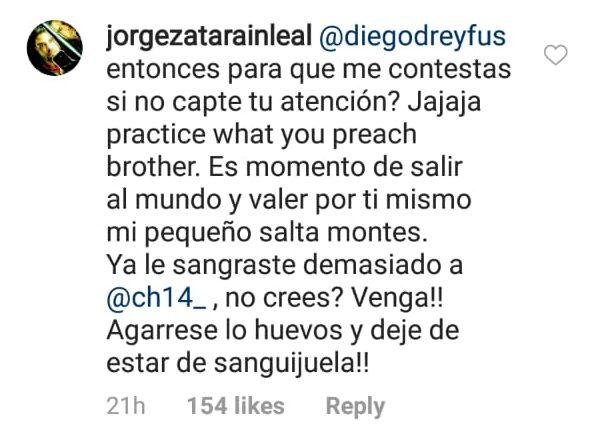 02/04/2020, Chicharito pelea con aficionado por defender a Diego Dreyfus
