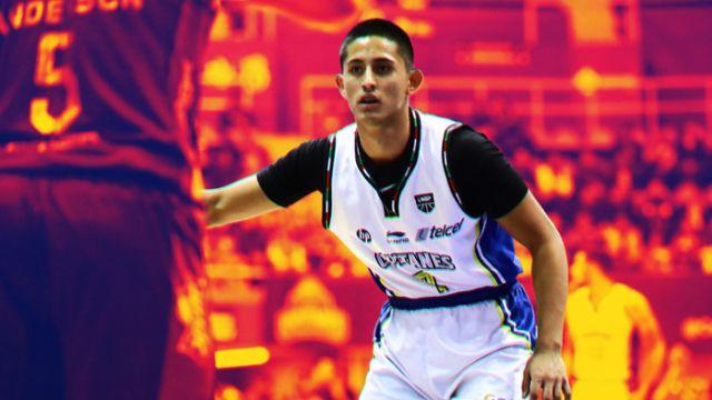 08/04/2020. Moisés Andriassi representa al joven talento del basquetbol mexicano, juega para los Capitanes de la CDMX y este es su perfil
