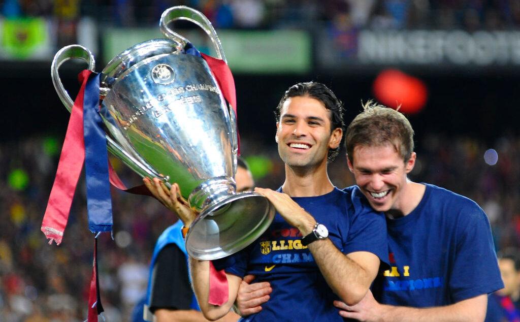 28/05/2009, Rafa Márquez confiesa que quiere ser entrenador del Barcelona y que no le gusto ser directivo