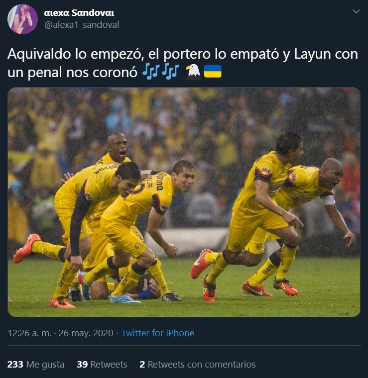 26/05/2020, Memes de Final entre América vs Cruz Azul del Clausura 2013