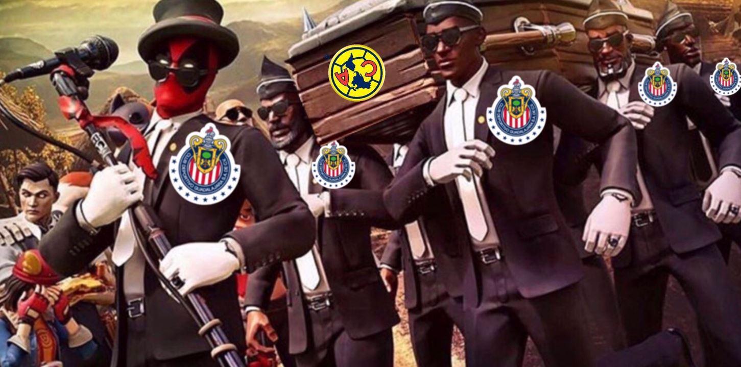 24/05/2020, Memes del Chivas vs América de la eLiga MX