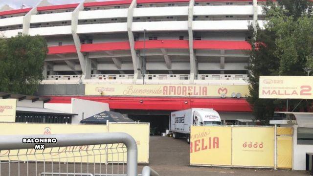 Comienza mudanza de Monarcas Morelia, desmantelan el Estadio Morelos 30/05/2020