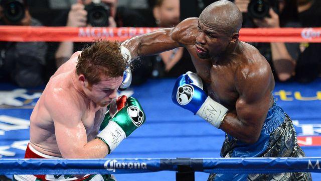 14/09/2013, Mayweather se burla del poco jugo que le saca el Canelo Álvarez a sus peleas de box