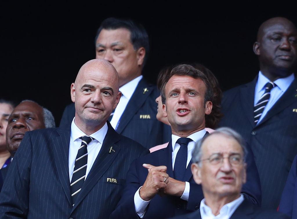 07/07/2019, FIFA, Gianni Infantino, Partido, Coronavirus