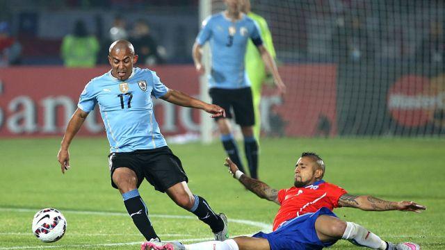 24/06/2015, Egidio Arévalo, Uruguay, Futbolista, Veracruz