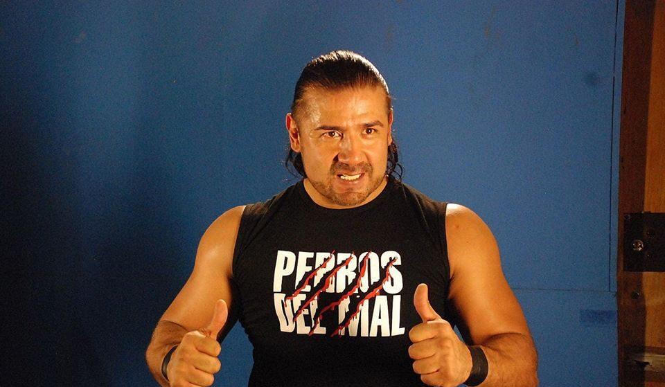 26/05/2020. Héctor Garza Lucha Libre Muerte Aniversario Los Pleyers, Héctor Garza durante su etapa como Perro del Mal.