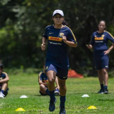 11/06/2018, Dania Padilla estudia carrera universitaria y juega con Pumas en la Liga MX Femenil