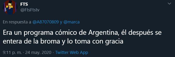 25/05/2020, Messi sufre acoso en entrevista en Argentina [VIDEO]