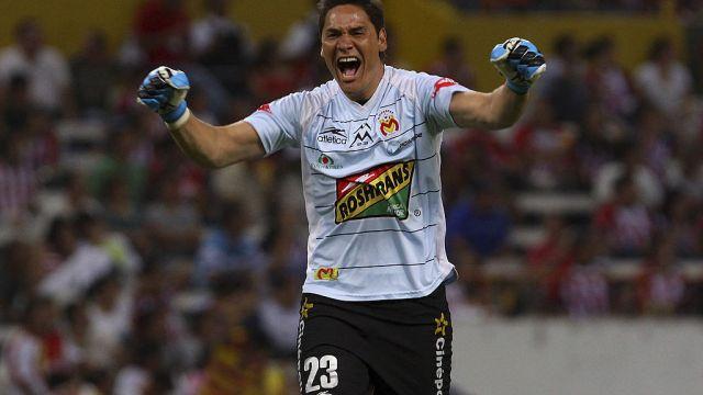 08/05/2010. Moisés Muñoz Fantasma Figueroa América Morelia Los Pleyers, Moisés Muñoz durante su etapa como jugador del Morelia.