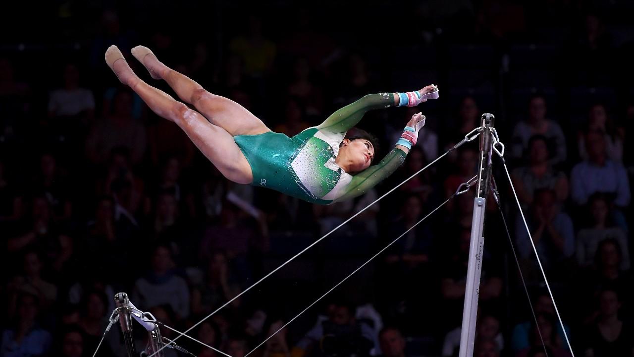 Alexa Moreno sigue con entrenamientos para Juegos Olímpicos a pesar del coronavirus 08/06/2020