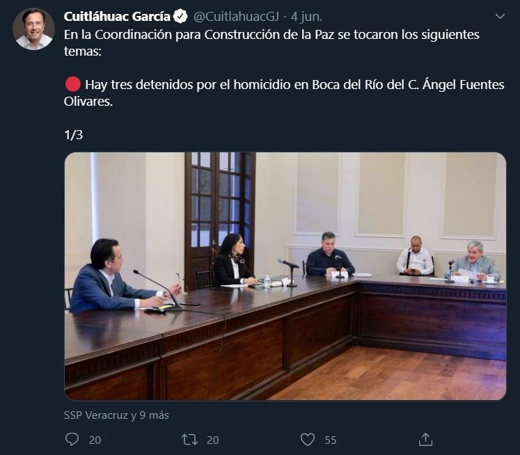 Culpan a futbolistas por muerte de Ángel Fuentes en Veracruz 05/06/2020