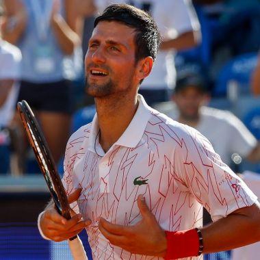 Despues de fiesta Novak Djokovic da positivo a coronavirus 23/06/2020