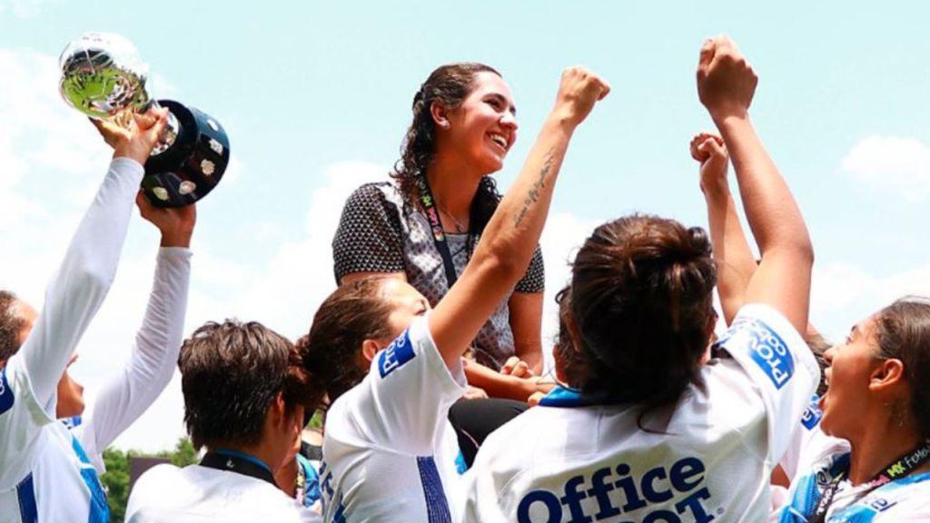 Eva Espejo del Pachuca espera que haya mas mujeres entrenando en la Liga MX Femenil 02/06/2020
