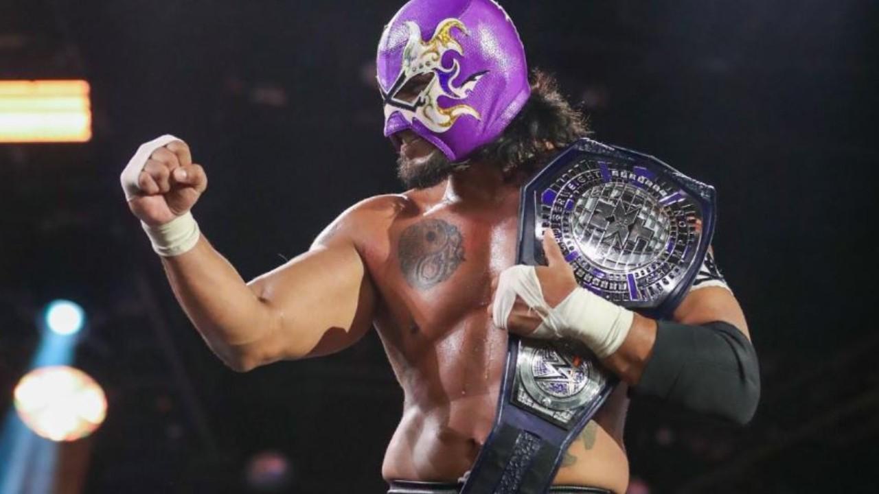 Hijo del Fantasma se proclama campeón de la NXT de la WWE 04/06/2020